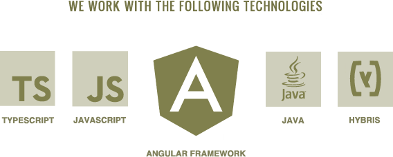 Web apps with Angular framework